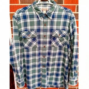 Duluth Trading Co. Flannel shirt men's XL EUC!!
